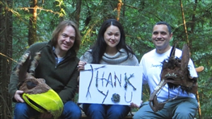 Brian Markley, Karen Offereins, and Victor Carrion, the remaining co-founders thank their collaborators and audiences.