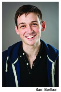 Who wouldn't hire that smile? Actor Sam Bertken is one tricky slave.
