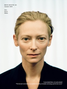 In space, no one can hear you Swinton.