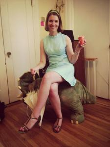 Marissa Skudlarek: you bet your sweet ass she'll make that dinosaur chair look classy.