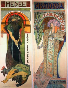 Since I much prefer Mucha, however, you're getting some Mucha.