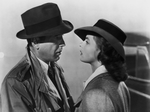 Forget that other guy, let's run away together! To hell with the fate of the world! Then let's make Casablanca 2: Lost in New York!