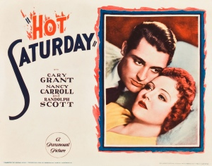 DISCLAIMER: Attendance at Saturday Write Fever is no guarantee of facial caress by Cary Grant's cheeks.