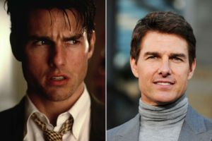 Tom Cruise's standard money-getting turtleneck.