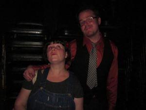 Stuart and Megan… givin' you Fevah! (photo by Rachel Bublitz)