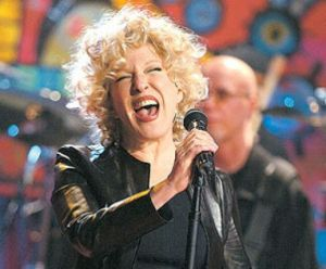 Does Bette Midler ever need a caption? No.