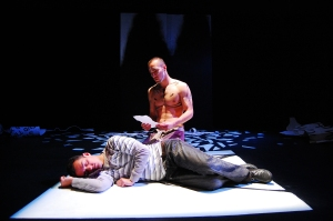 Into the Clear Blue Sky – Production Shot, Sleepwalkers Theatre