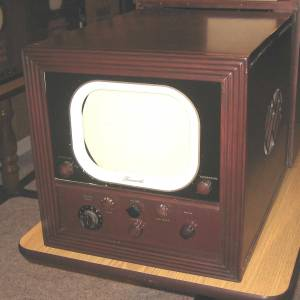 A Farnsworth television set.