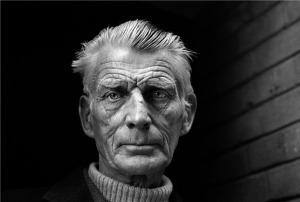 Samuel Beckett at 70, but don't think he couldn't have taken you.