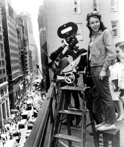 No, this isn't Allison, this is Elaine May, and she's making a movie not directing a play, but let's just let that slide.