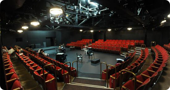 The Long Beach Playhouse = in business since 1929.