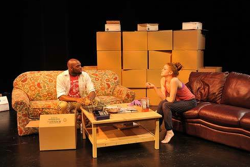 """Plastic Nest"" by Tracy Held Potter at the CMU School of Drama. Photo credit: Louis Stein"