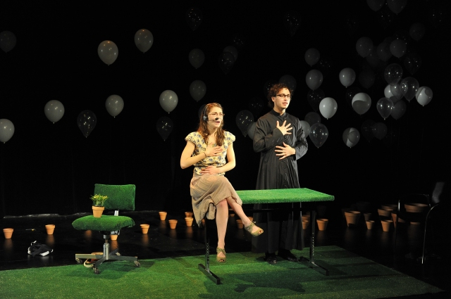 """Winnebago"" by Julie Jigour at the CMU School of Drama. Photo credit: Louis Stein."