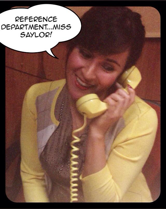 Kitty Torres as Ruthie in Desk Set.