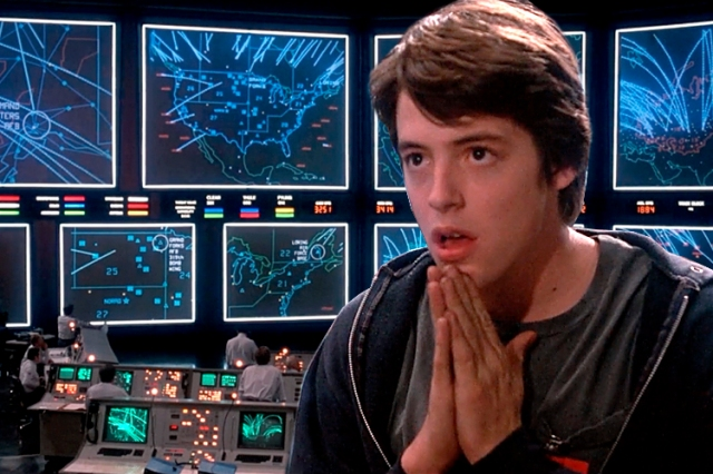 Matthew Broderick, making hoodies tech-chic since '83.