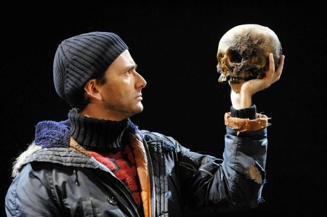 I feel like every dude in S.F. has this outfit. David Tennant as Hamlet (photo by Robbie Jack/Corbis).