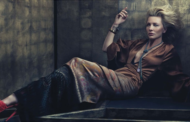 Cate Blanchett is smart and makes bold choices. I'm pretty sure of that.