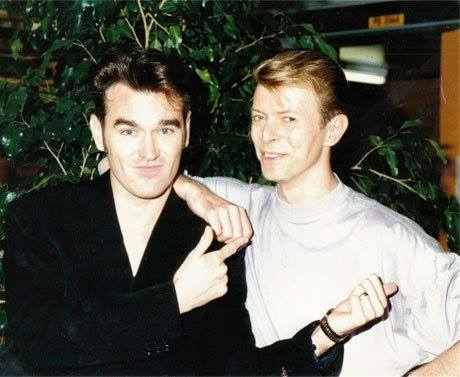 """David [Bowie] quietly tells me, 'You know, I've had so much sex and drugs that I can't believe I'm still alive,' and I loudly tell him, 'You know, I've had SO LITTLE sex and drugs that I can't believe I'm still alive."" - Morrissey"