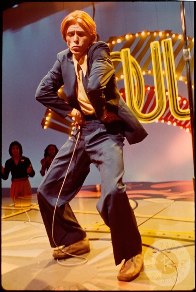 Yes, he was on Soul Train.