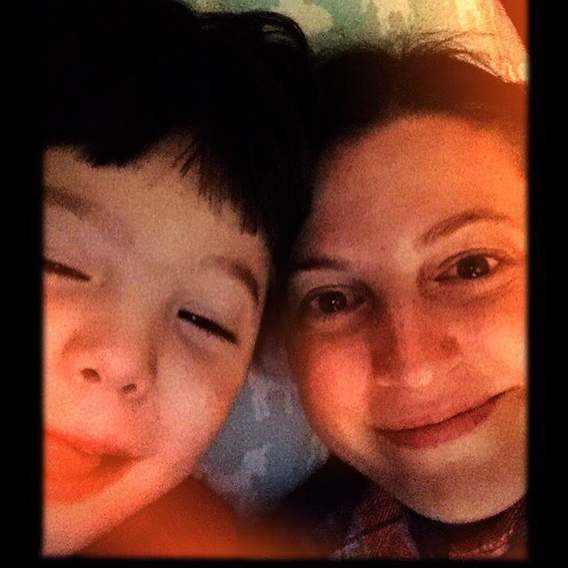 This is me and my son who is almost 6 and the best ever. I never wanted to have children, but when it came down to it, I couldn't say no, and I'm so glad I said yes to life.