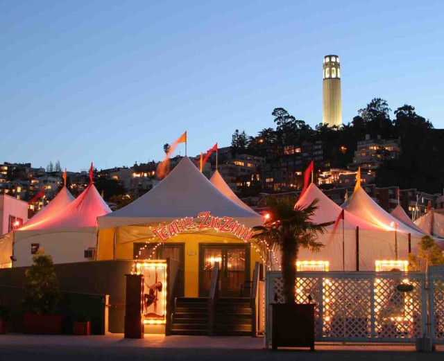 Teatro Zinzanni tents