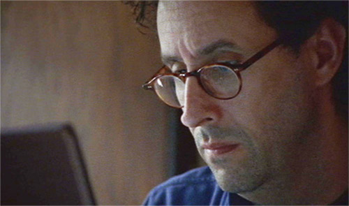 Tony Kushner writing CAPTION: via PBS