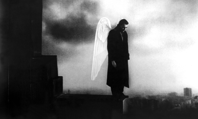 No Merchandising. Editorial Use Only Mandatory Credit: Photo by Everett Collection / Rex Features ( 716635a ) 'Wings of Desire', (aka 'Der Himmel Uber Berlin'), Bruno Ganz 'Wings of Desire' film - 1987