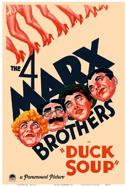 Those Marx Brothers never get old. Harpo and his evil face might be my favorite.