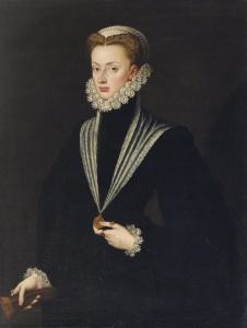 Portrait of Princess Juana by Sofonisba Anguissola, via Wikimedia Commons
