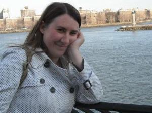 Heather Helinsky, dramaturge.